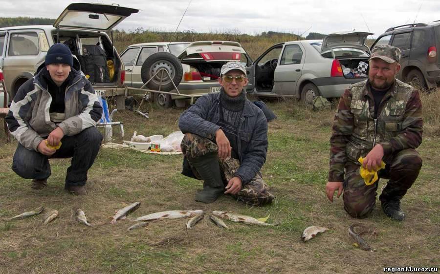 места для рыбалки на мокше